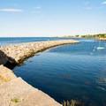 The Atlantic seen from Bearskin Neck.- Bearskin Neck