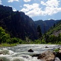 Rapids along the Gunnison River.- Gunnison Route