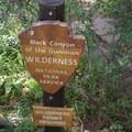 Trail signage.- Gunnison Route