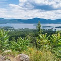 A view of Lake George.- The Pinnacle