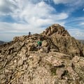 Nearing the summit.- Hayden Peak