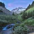 Lost Creek and Mount Hood.- Paradise Park Loop