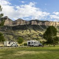 North Fork Campground is located in a beautiful setting.- North Fork Campground