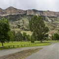 North Fork Campground road.- North Fork Campground