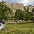 North Fork Campground is equally great for RVs or tent campers.- North Fork Campground