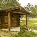 There are three cabins available in the campground.- Lewis and Clark Caverns State Park Campground