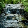The bottom portion of Wildcat Wayside Falls.- Wildcat Wayside
