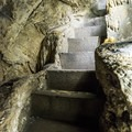 Over 600 steps descend through the cave.- Lewis and Clark Caverns
