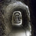 A  quarter-mile tunnel serves as the exit for the cave.- Lewis and Clark Caverns