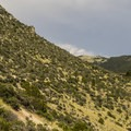Heading back up the return section of the trail.- Lewis and Clark Caverns