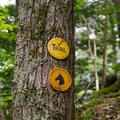 This trail is also marked as a horse trail.- Shelving Rock Mountain