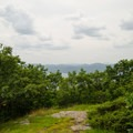 The view from the summit of Shelving Rock Mountain.- Shelving Rock Mountain