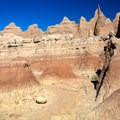 An armored mud ball is an intriguing natural feature in the park.- The Door Trail