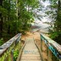 The Bridge Leading to Bald Rock.- Bald Rock Heritage Preserve