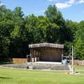Park amphitheater.- Pocahontas State Park Campground