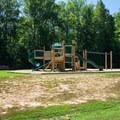 Playground.- Pocahontas State Park Campground