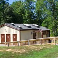 Bathhouse.- Pocahontas State Park Campground