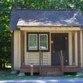 Cabin.- Pocahontas State Park Campground