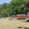 Park entrance.- Pocahontas State Park Campground