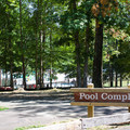 The Pool Complex picnic area.- Pocahontas State Park