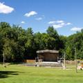 The park's large amphitheater.- Pocahontas State Park