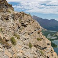Views are incredible the whole way.- Swiftcurrent Pass Trail