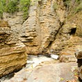 Hell's Gate, where you can see Jacob's Ladder and the small cave known as the Devil's Oven.- Ausable Chasm
