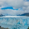 The average height of the headwall is 73 meters.- Mirador Perito Moreno