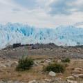 Where the crampons are sized.- Perito Moreno Glacier Hike