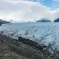 Returning to the boat.- Perito Moreno Glacier Hike