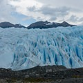 There are many cracks in the ice along the hike back.- Perito Moreno Glacier Hike