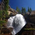 Top of Ouzel Falls.- Bluebird Lake