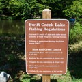 Fishing regulations for the park.- Pocahontas State Park