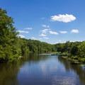 Swift Creek Lake.- Pocahontas State Park