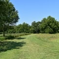 Half-mile trail to Gibson's Mill.- Wilson's Creek National Battlefield