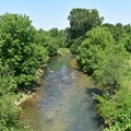 Wilson's Creek, looking south.- Wilson's Creek National Battlefield
