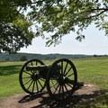 Guibor's Battery cannons.- Wilson's Creek National Battlefield