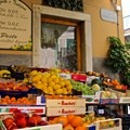 One of many fruit stands located in the area.- Cinque Terre