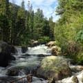 Copeland Falls.- Thunder Lake