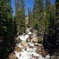 Ouzel Falls.- Thunder Lake