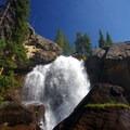 Top of Ouzel Falls.- Thunder Lake