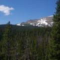 Viewpoint along the trail.- Thunder Lake