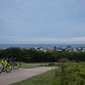 People can bike to the memorial.- Wright Brothers National Memorial