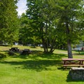 Day use picnic area.- Paradox Lake Campground