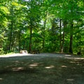Spacious campsites.- Paradox Lake Campground