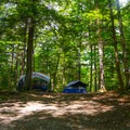 Campsite.- Paradox Lake Campground