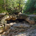 More caves for visitors to explore.- Natural Stone Bridge and Caves Park