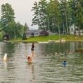 Summer fun at the lake.- Veteran's Memorial Park