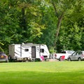RV camping.- Crown Point Campground