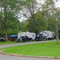 Crown Point Campground.- Crown Point Campground